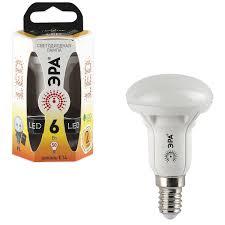 Купить <b>Лампа светодиодная ЭРА</b>, 6 (50) Вт, цоколь E14 ...