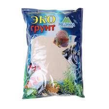 <b>Кварцевый песок</b> для аквариумов «<b>Эко</b> грунт», 3,5 кг, фракция 0,3 ...