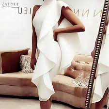 <b>Adyce 2019 New Summer</b> White Women Celebrity Party Dress Sexy ...