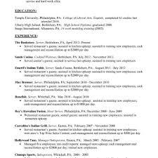 waitress job description resume waitress resume job description and template restaurant description waiter job description