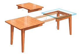 Dining Room Tables Plans Extension Dining Table Finewoodworking