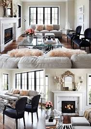 chic living room dcor: beautiful parisian chic living room with marble muted colors and various patterns and textures