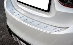 """<b>Защитная накладка на задний</b> бампер """"МВ"""" для Мазда 6 GJ 2013 ..."""