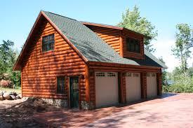 log home plans garages cabin garage
