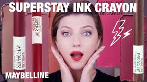 <b>ПОМАДА</b>-<b>КАРАНДАШ</b> MAYBELLINE SUPERSTAY INK CRAYON ...