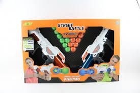 <b>Игрушечное оружие 1Toy</b> Street Battle с мягкими шариками Т13652