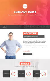 20 best wordpress resume themes for your personal website resumex multipurpose wp resume one page folio