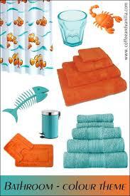 bathroom storage accessories children aqua blue and orange bathroom  aqua blue and orange bathroom