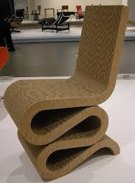 image photo by sailko wikimedia of frank gehrys wiggle chair cardboard furniture diy