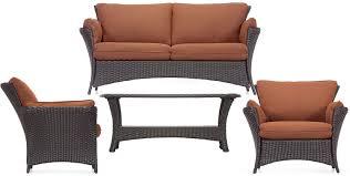 hanover strathmere allure 4pc patio set strathallure4pc allure furniture