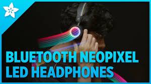 How to make <b>Bluetooth</b> Controlled <b>LED Headphones</b> - YouTube