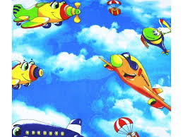 <b>Простыня Lili Dreams</b>, на резинке Самолетики 120*60*15 см ...