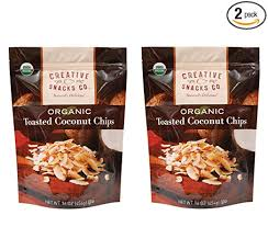 Creative Snacks Naturally Delicious <b>Organic Toasted Coconut</b> ...