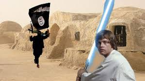 in his Star Wars saga for