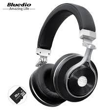 Bluedio T3 Plus wireless Bluetooth headphones with microphone ...