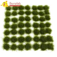 147pcs grass cluster static tufts for 1 35 1 48 1 72 1 87 sand table architecture model dark green