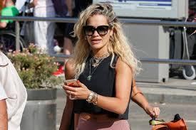 Rita Ora Takes on Ibiza in <b>Nike's M2K</b> Tekno Dad <b>Shoes</b> & Colorful ...