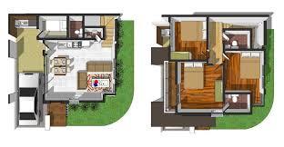 Brookside Residences Cebu  Brookside House  Cebu    Caitlin Floor Area  sq  m  Lot Area  sq  m Bedrooms Toilet  amp  Bath Storey Single Attached Price  P       FLOOR PLAN  CLICK IMAGE TO VIEW