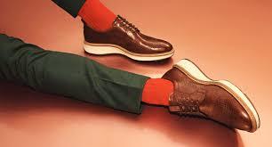 Men's Soft 7 <b>Contrast Heel</b> Sneakers | Men's Sneakers | ECCO ...