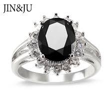 <b>JIN&JU</b> Elegant Luxury Black Color CZ <b>Women Jewelry</b> Diana ...
