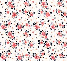 Seamless floral pattern for . small pink flowers. white <b>background</b> ...