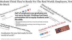 employability v business skills enough talk it s time for action headlines around the world of work