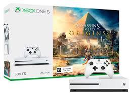 Игровая приставка Microsoft Xbox One S 500Gb White + <b>Assassin's</b> ...