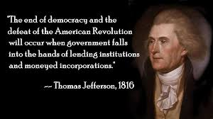 Jefferson on the end of democracy | Humores y amores