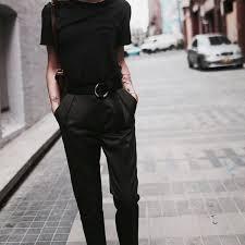 <b>Базовый</b> женский гардероб: <b>Чёрные брюки</b>