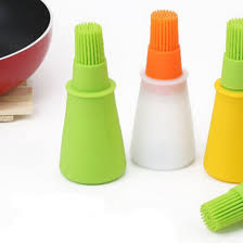 Barbecue Oil Brushes <b>Silicone Bottle</b> Basting Oil Cooking Heat ...