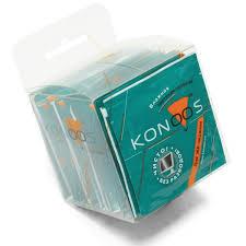 <b>Салфетки Konoos</b> влажные для ЖК-экранов в инд. упаковке <b>30</b> ...