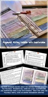 best ideas about explanation writing getting to argument writing foldable counterclaim evidence and explanation
