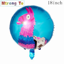 10pcs/set 18inch Lama Alpaca Pinata <b>Foil Helium Balloons Unicorn</b> ...