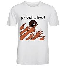 Gayaer <b>Judas Priest Priest Live</b> Mens T S- Buy Online in Maldives at ...