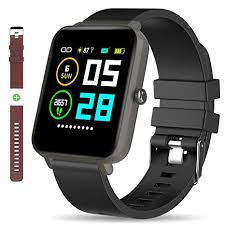 Bluetooth Smart Watch: All-Day Heart Rate Blood ... - Amazon.com