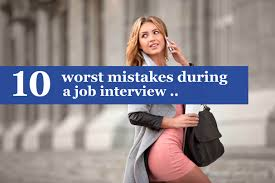 how to handle the relationship your boss the 10 worst mistakes during a job interview