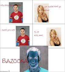 i shoot u now | Bazinga | Know Your Meme via Relatably.com