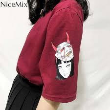 <b>NiceMix</b> New <b>Japanese Harajuku</b> Style woman Blouse vintage ...