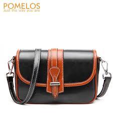 <b>POMELOS Women Bag</b> Fashion High Quality Split Leather Brand ...
