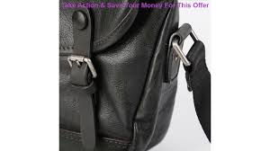 Review <b>AETOO Leather shoulder</b> bag men's casual stiletto bag ...