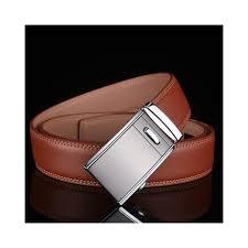 <b>Plyesxale</b> Genuine <b>Leather Belt</b> Men Automatic Buckle <b>Belts</b> 2018 ...