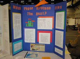 make a science fair project poster ideas flight aeronautical paper airplane science experiment twin cities regional science fair 2006