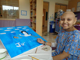 <b>A lot of 'heART</b>': Non-profit brings creativity to hospitalized kids ...