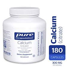 Amazon.com: Pure Encapsulations - <b>Calcium</b> (Citrate ...