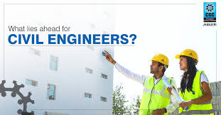 what are the best career options for a civil engineer after top future prospects after b tech in civil engineering