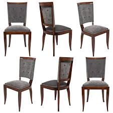 french art deco set of dining chairs at stdibs deco dining chairs art deco dining chair