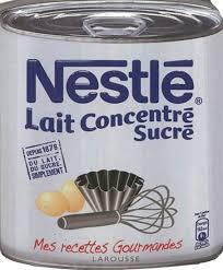 """Résultat de recherche d'images pour """"lait concentré sucré nestlé"""""""