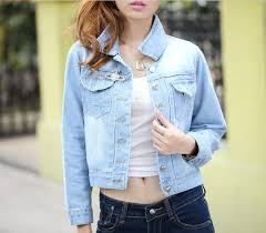 Image result for áo jean nữ