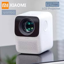 <b>Xiaomi Wanbo</b> T2 Free <b>LCD</b> Projector LED Support 1080P Vertical ...