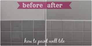 can you paint over tile in a bathroom